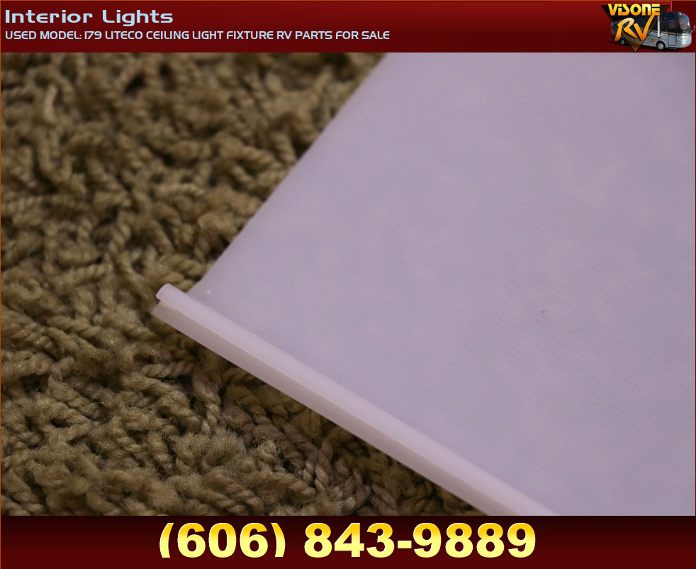 Rv Interiors Used Model 179 Liteco Ceiling Light Fixture Rv Parts For Sale Interior Lights