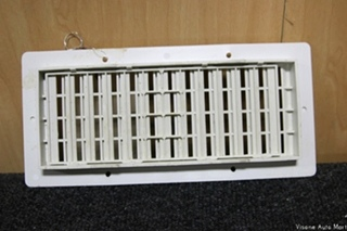 USED RV/MOTORHOME/CAMPER INTERIOR FLOOR/CEILING VENTS | SIZE: 11 x 5