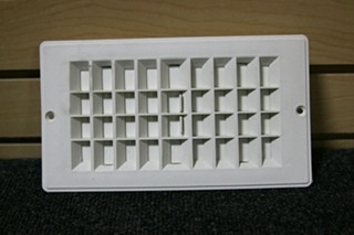 RV/MOTORHOME WHITE FLOOR OR CEILING VENT SIZE: 9-3/16 X 5-3/16 *OUT OF STOCK*