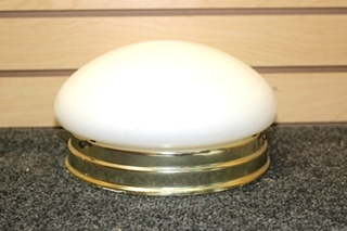 USED RV/MOTORHOME INTERIOR CEILING DOME LIGHT | SIZE: 9 INCH