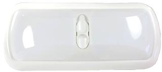 NEW ARCON BRIGH WHITE ED-LITE DOUBLE LED LIGHT W/ WHITE LENS