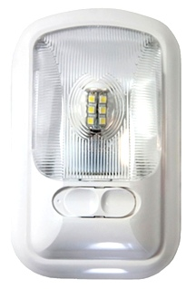 NEW ARCON 12V BRIGHT WHITE EU-LITE RV SINGLE LED LIGHT W/ OPTIC LENS