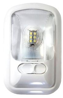 NEW ARCON 12V BRIGHT WHITE EU-LITE RV SINGLE LED LIGHT W/ OPTIC LENS