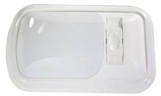 NEW ARCON 12V BRIGHT WHITE EU-LITE SINGLE LED LIGHT W/ WHITE LENS