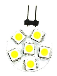NEW RV/MOTORHOME ARCON 12V BRIGHT WHITE 12V 6-LED DISC BULB PN: 50552