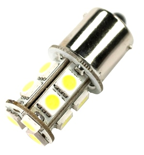 NEW RV/MOTORHOME ARCON 12V BRIGHT WHITE 13 LED REPLACEMENT BULB PN 50435