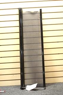 USED RV/MOTORHOME 39 INCH BLACK MANUAL SUN SHADE