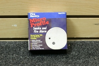 NEW RV FIRE SENTRY SMOKE & FIRE ALARM DETECTOR PN: 0914