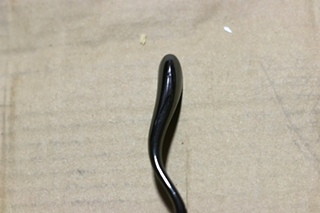 NEW CABINET HANDLE SET OF 10 - BLACK ONYX PRICE: 10 FOR $10.00