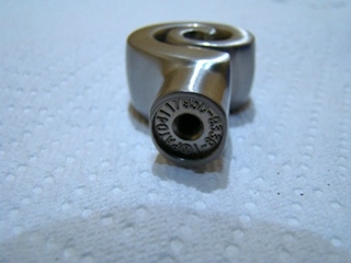 NEWSPIRAL KNOB SATIN NICKEL SIZE:1 1/8 PRICE: 10 FOR $10.00