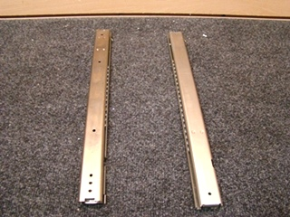 NEW RV OR HOME DRAWER TRACKS SIZE: 18 1/8