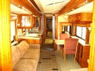 MOTORHOME INTERIOR PACKAGE FOR SALE 2007 COUNTRY COACH MAGNA 630