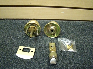 NEW RV OR HOME FAULTLESS PASSAGE SET DOOR KNOB