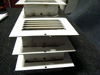 USED RV/MOTORHOME WHITE FLOOR VENTS (SET OF 7) FOR SALE