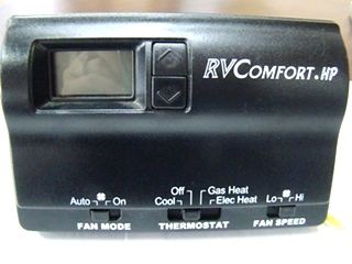 USED RV/MOTORHOME RV COMFORT HP THERMOSTAT (BLACK) FOR SALE