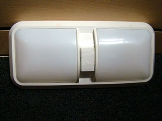 USED RV/MOTORHOME DOUBLE LENSE RV LIGHT PANEL FOR SALE