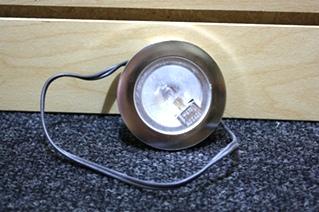 USED RV PARTS NICKEL INTERIOR LIGHT FOR SALE