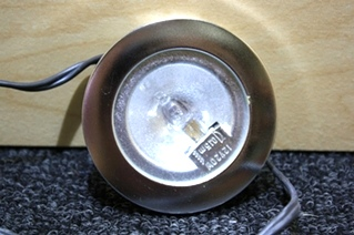 USED RV PARTS NICKEL INTERIOR LIGHT FOR SALE