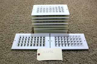 USED RV PARTS SET OF 10 VENTS FOR SALE