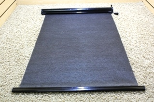 USED PRIVACY ENTRY DOOR MANUAL SUN SHADE RV PARTS FOR SALE