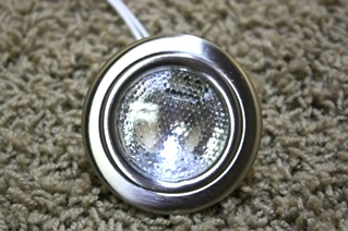 USED STAINLESS INTERIOR ACCENT LIGHT PUCK FOR SALE