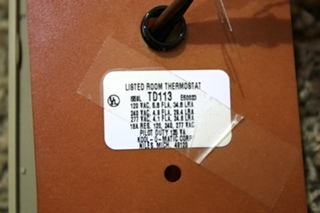 USED RV KOOL-O-MATIC TD113 THERMOSTAT FOR SALE