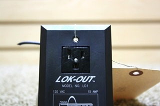 USED MOTORHOME LOK-OUT MODEL L01 WALL OUTLET FOR SALE