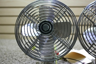 USED SET OF 2 RV TWO SPEED DASH FANS CF-712 FOR SALE