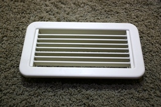 USED SET OF 4 PGA GRILLE WITH MOUNTING FRAME PGA105R RV VENTS FOR SALE