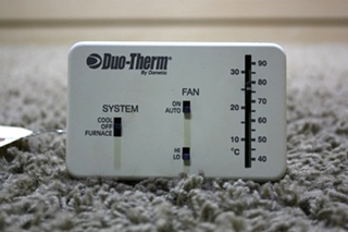 USED DUO-THERM BY DOMETIC THERMOSTAT 3107612.008 MOTORHOME PARTS FOR SALE
