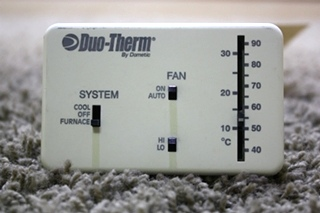 USED RV DUO-THERM BY DOMETIC THERMOSTAT 3107612.008 FOR SALE