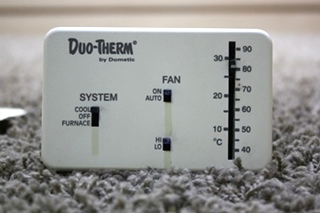 USED MOTORHOME 3107612.016 DUO-THERM BY DOMETIC WALL THERMOSTAT FOR SALE