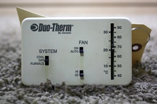 USED DUO-THERM BY DOMETIC 3107612.008 THERMOSTAT MOTORHOME PARTS FOR SALE