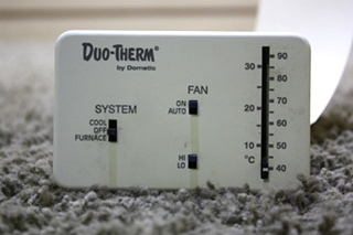 USED RV DUO-THERM BY DOMETIC THERMOSTAT 3107612.008 MOTORHOME PARTS FOR SALE