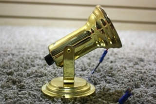 USED RV INTERIOR GOLD LIGHT FIXTURE FOR SALE