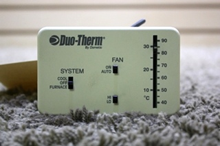 USED RV DUO-THERM BY DOMETIC 3107612.008 THERMOSTAT FOR SALE