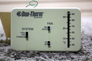 USED 3107612.008 DUO-THERM BY DOMETIC THERMOSTAT MOTORHOME PARTS FOR SALE