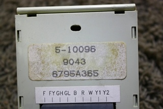 USED RV COLEMAN WALL THERMOSTAT 6795A365 FOR SALE