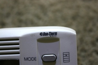 USED DUO-THERM BY DOMETIC COMFORT CONTROL 5 BUTTON THERMOSTAT RV PARTS FOR SALE