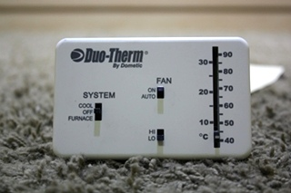USED DUO-THERM BY DOMETIC 3106995.032 WALL THERMOSTAT MOTORHOME PARTS FOR SALE