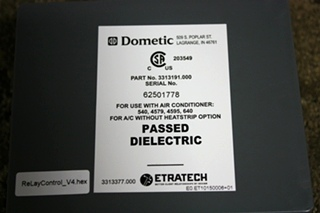 DOMETIC 3104993.005 CONTROL WITH SINGLE ZONE LCD UPGRADE KIT RV PARTS FOR SALE