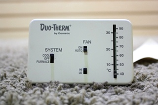USED DUO-THERM BY DOMETIC WALL THERMOSTAT 3107612.008 MOTORHOME PARTS FOR SALE