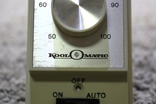 USED RV KOOL-O-MATIC TD113 WALL THERMOSTAT FOR SALE