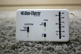 USED 3107612.008 DUO-THERM BY DOMETIC WALL THERMOSTAT RV PARTS FOR SALE