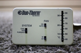 USED MOTORHOME DUO-THERM BY DOMETIC 3107612.008 THERMOSTAT FOR SALE