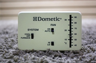USED DOMETIC 3107610.002 WALL THERMOSTAT MOTORHOME PARTS FOR SALE