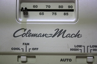 USED COLEMAN-MACH AR7807 WALL THERMOSTAT RV PARTS FOR SALE