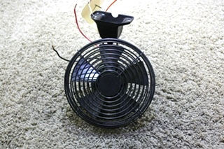 USED RV BERGSTROM BLACK DASH FAN 756727 FOR SALE