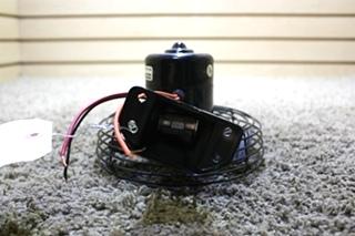 USED RV BERGSTROM BLACK DASH FAN 756727 FOR SALE