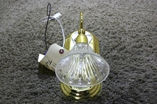 USED RV WALL SCONCE LIGHT FIXTURE FOR SALE